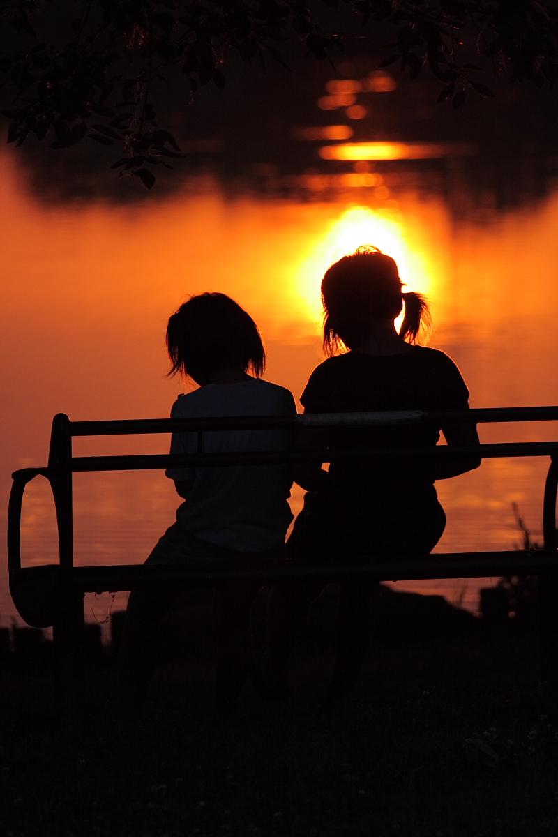 綺麗な夕日_f0021869_18365567.jpg