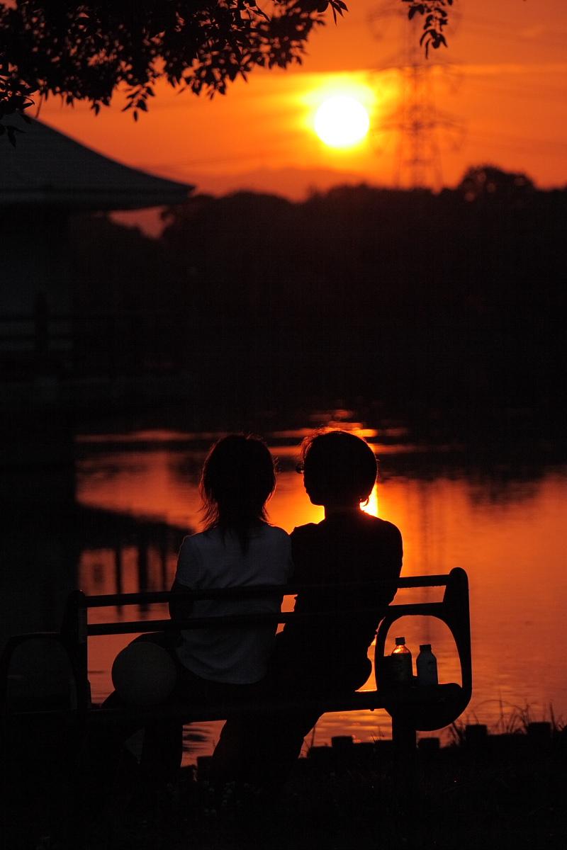 綺麗な夕日_f0021869_18391947.jpg
