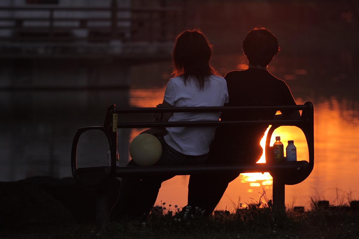 綺麗な夕日_f0021869_18422751.jpg