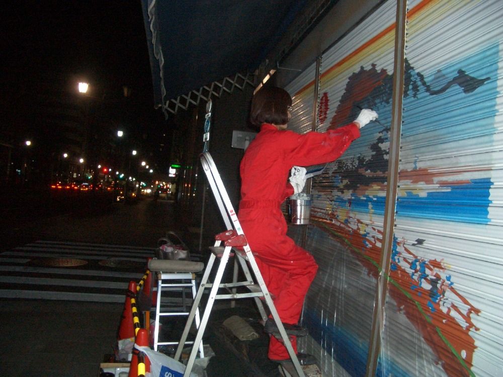 赤いツナギで東海道_e0105782_2101948.jpg