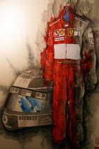 日本出版美術家連盟展「変身」~F1引退のシューマッハ・参院選前の安倍総理_f0006713_0441251.jpg