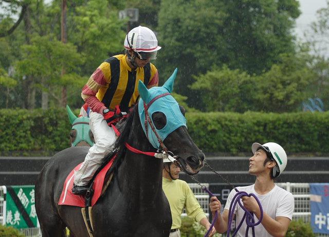 2007年6月24日(日) 高知競馬 9R 倉兼育康騎手壮行特別_a0077663_18242064.jpg
