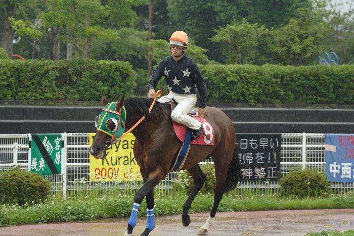 2007年6月24日(日) 高知競馬 9R 倉兼育康騎手壮行特別_a0077663_18243337.jpg