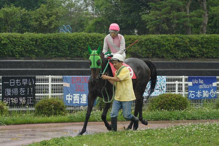 2007年6月24日(日) 高知競馬 9R 倉兼育康騎手壮行特別_a0077663_18244682.jpg