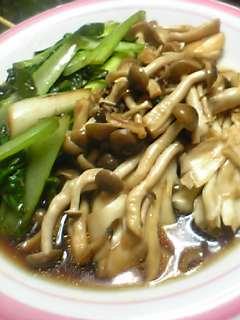 野菜とキノコ炒め_a0053923_0202961.jpg
