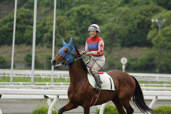 第7回 高知競馬能力検査 及び ゲート練習_a0077663_200213.jpg
