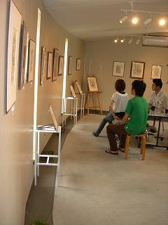 植田言志ペン画展・6月28日~7月17日まで_e0109554_16281699.jpg