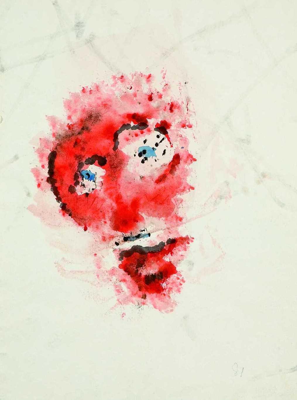 幻覚剤をつかった絵画!アンリ・ミショー展_b0074921_9414997.jpg