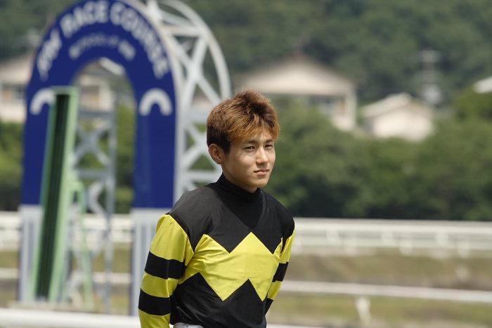 金沢競馬の田知弘久(たちひろひさ)騎手、登場!!_a0077663_18341697.jpg