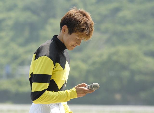 金沢競馬の田知弘久(たちひろひさ)騎手、登場!!_a0077663_18343778.jpg