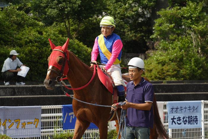 金沢競馬の田知弘久(たちひろひさ)騎手、登場!!_a0077663_18352912.jpg
