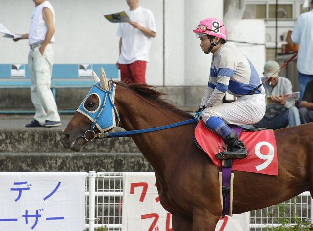 2007年6月30日(土) 高知競馬 10R 高知なすは日本一特別 パドック_a0077663_19253784.jpg