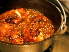 ダッチオーブンでマーマレードチキン_c0110869_18213839.jpg
