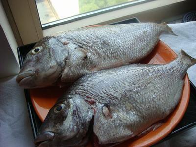 鯛で刺身を2色、2食・・・_d0100880_0563517.jpg