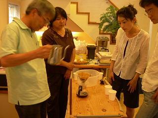 コーヒーの淹れかた教室は大成功_e0109554_1857374.jpg