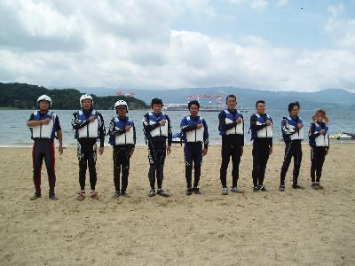 海開きと訓練_a0077071_1893975.jpg