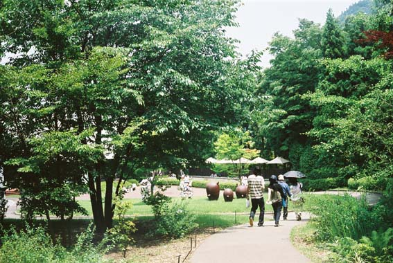箱根彫刻の森。_f0068850_1216459.jpg
