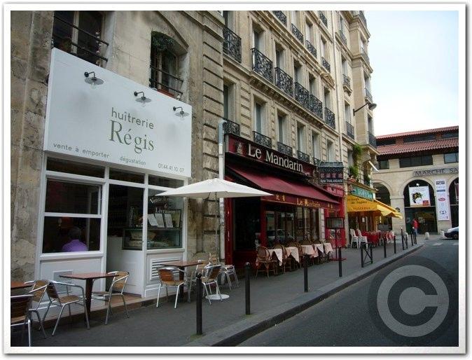 ■街角の牡蠣専門店REGIS(オイスターバー)Rue Montfaucon_a0014299_927448.jpg