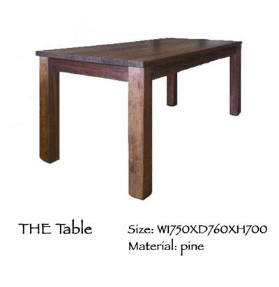 オーダー家具 ダイニングテーブル_e0093914_21501711.jpg