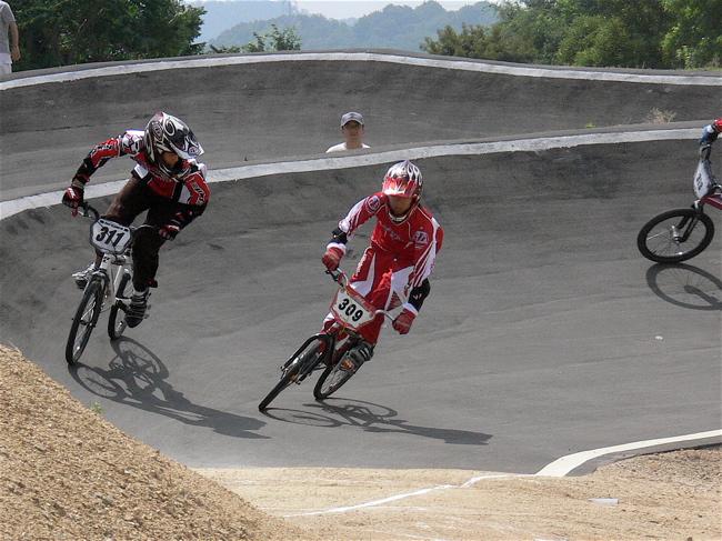 2007JBMXFジャパンシリーズ西日本選手権VOL4 Day1年齢別クラス予選の画像垂れ流しその2_b0065730_22473938.jpg
