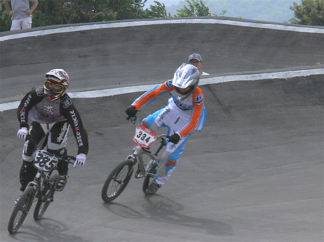 2007JBMXFジャパンシリーズ西日本選手権VOL4 Day1年齢別クラス予選の画像垂れ流しその2_b0065730_22522421.jpg