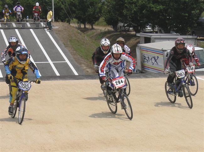 2007JBMXFジャパンシリーズ西日本選手権VOL4 Day1年齢別クラス予選の画像垂れ流しその2_b0065730_2255586.jpg