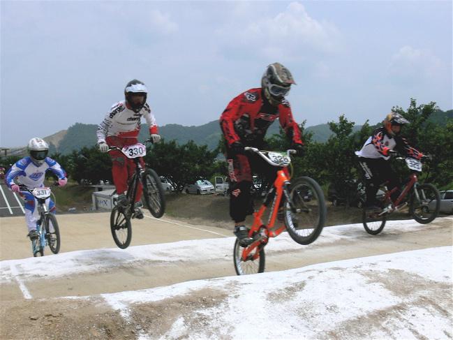 2007JBMXFジャパンシリーズ西日本選手権VOL4 Day1年齢別クラス予選の画像垂れ流しその2_b0065730_22564187.jpg