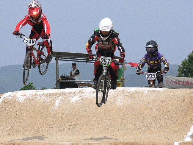 2007JBMXFジャパンシリーズ西日本選手権VOL4 Day1年齢別クラス予選の画像垂れ流しその2_b0065730_22573875.jpg