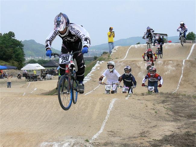 2007JBMXFジャパンシリーズ西日本選手権VOL4 Day1年齢別クラス予選の画像垂れ流しその2_b0065730_22593768.jpg