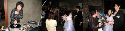 行方さん&和田さん ディアブロで入場! 結婚披露パーティーにて_a0033733_9553061.jpg