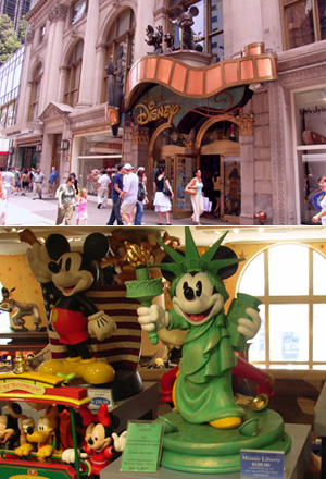 ディズニーのNYグッズ World of Disney New York_b0007805_7494130.jpg