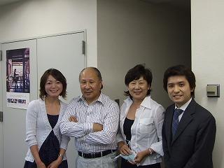 中央右が北山ひとみ社長。中央左は際コーポレーションの中島社長(2年前の写真ですが)