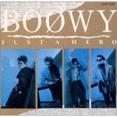 BOØWY 「JUST A HERO」(1986)_c0048418_2254170.jpg