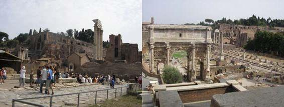 ローマの休日 フォロ・ロマーノ  コロッセオ_a0084343_17575870.jpg
