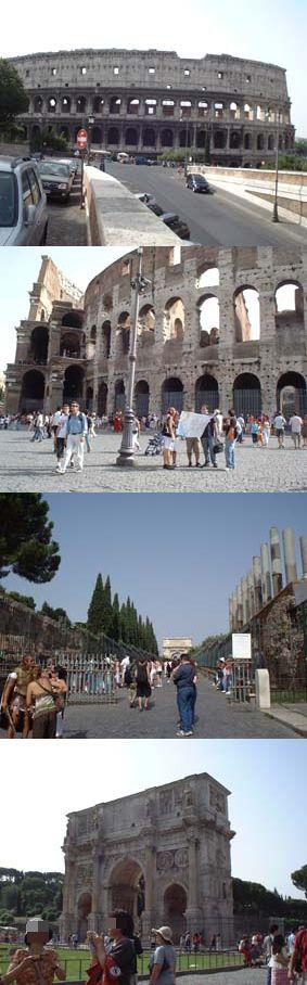 ローマの休日 フォロ・ロマーノ  コロッセオ_a0084343_2146381.jpg
