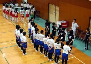 練習試合【バレーボール】_d0010630_13494846.jpg