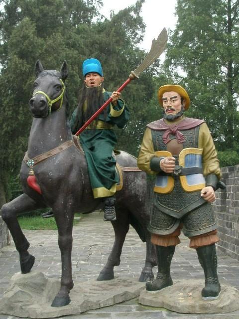 世界一周中、中村さんの中国歴史的勇士的雄姿_c0011649_745182.jpg