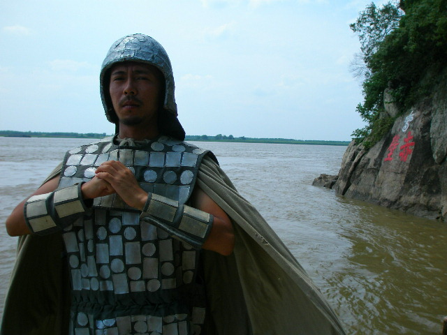 世界一周中、中村さんの中国歴史的勇士的雄姿_c0011649_7471973.jpg