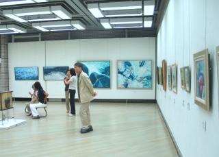 新生美術会 関東支部展が盛況の中、7月8日に閉幕しました。_e0010418_1145842.jpg
