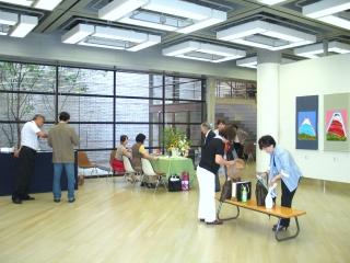 新生美術会 関東支部展が盛況の中、7月8日に閉幕しました。_e0010418_14913100.jpg