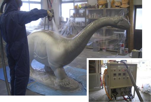 メーキング・オブ・レトロ恐竜4点セット/その8。_a0077842_2354531.jpg