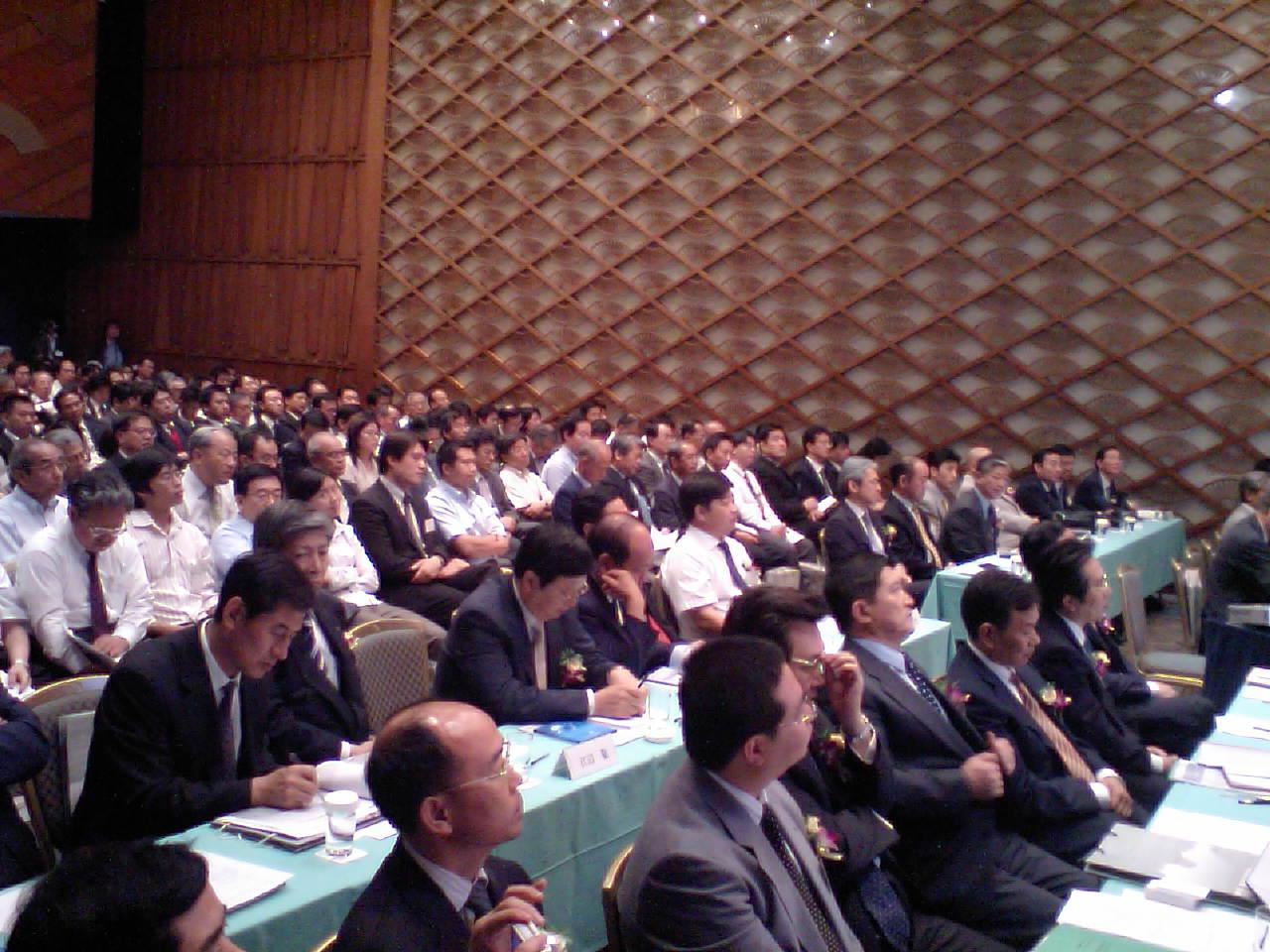 中国山東投資プロジェクト説明会会場の写真_d0027795_16504566.jpg