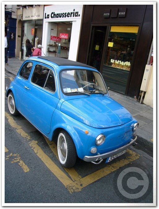 ■街角の車(パリ)_a0008105_19532477.jpg