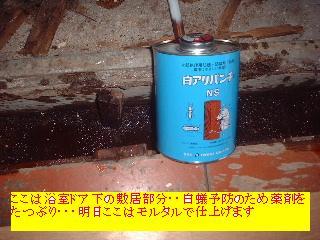 左官・大工・・明日は塗装か・・笑_f0031037_1730137.jpg