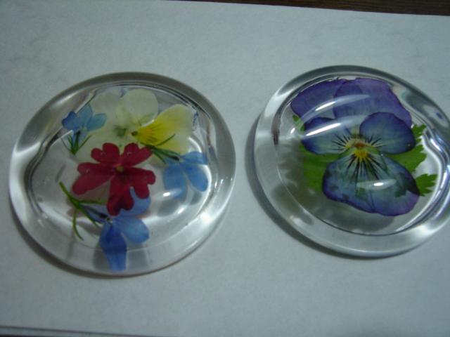 押し花の箸置き_a0025572_23512783.jpg