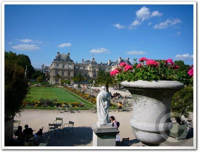 ■夏のリュクサンブルグ公園(パリ)_a0008105_8442928.jpg