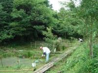 ビオトープ周辺草刈り・・・定例活動日_c0108460_16391388.jpg