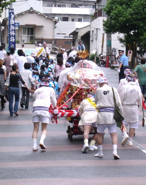 *夏祭り *_f0146198_1573674.jpg
