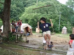 International survival mini-camp 2日_e0015223_7392279.jpg