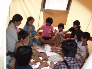 International survival mini-camp 2日_e0015223_7502561.jpg